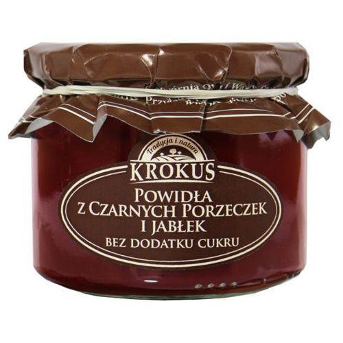 Krokus 310g powidła z czarnych porzeczek i jabłek bez dodatku cukru tradycyjna receptura (5906732624109)