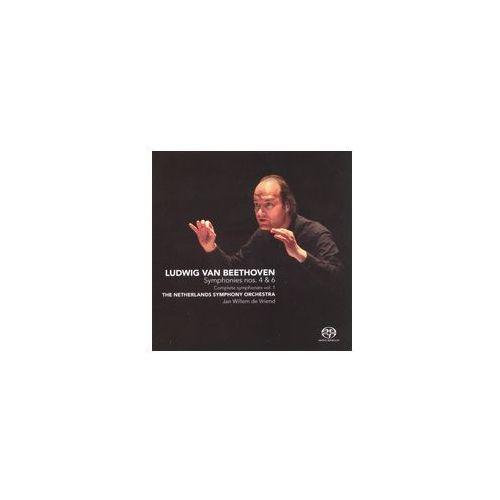 Ludwig Van Beethoven: Symphonies Nos. 4 & 6 (Complete Symphonies Vol. 1) [Hybrid Sacd] (0608917236125)