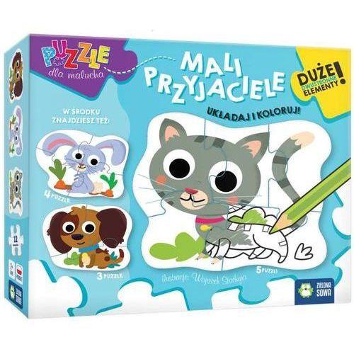 Puzzle dla malucha Mali przyjaciele -. (5901761118735)
