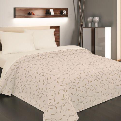4home Forbyt narzuta na łóżko indiana beżowa, 240 x 260 cm