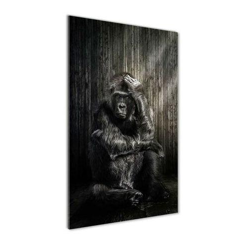 Nowoczesny foto-obraz akryl na ścianę Goryl