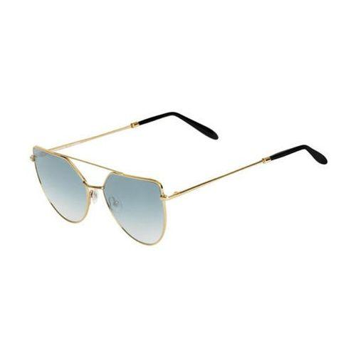 Okulary Słoneczne Spektre Off Shore Doppio OSD01AFT/Gold Glossy (Gradient Silver), kolor żółty