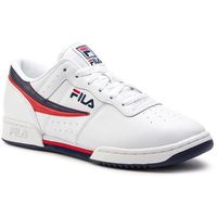 Fila Sneakersy - original fitnes 1010492.150 white/fila navy/fila red