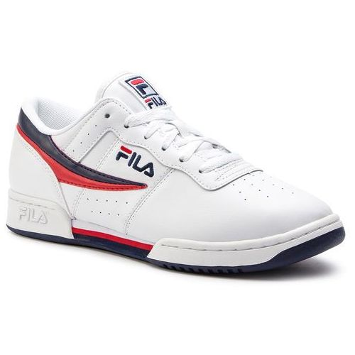 Sneakersy FILA - Original Fitnes 1010492.150 White/Fila Navy/Fila Red, kolor biały