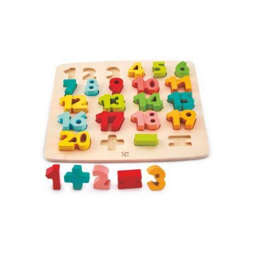 Hape Puzzle z liczbami i symbolami matematycznymi (6943478018709)