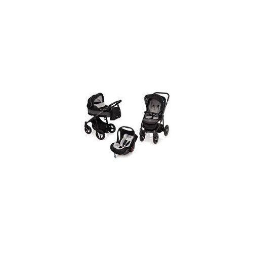 Baby design W�zek wielofunkcyjny 3w1 husky lupo + leo (czarny + winter pack)