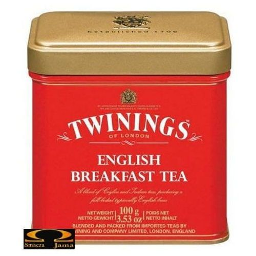 Herbata Twinings English Breakfast 100g, HERB104