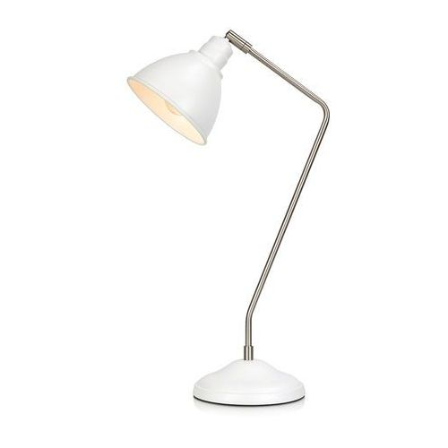Stojąca LAMPKA biurkowa COAST 107309 Markslojd nocna LAMPA metalowa do sypialni biała