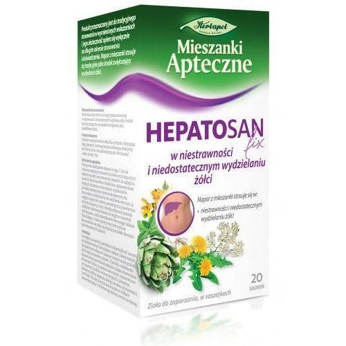 Hepatosan (cholagoga ii) zioła fix 2g x 20 saszetek marki Herbapol lublin