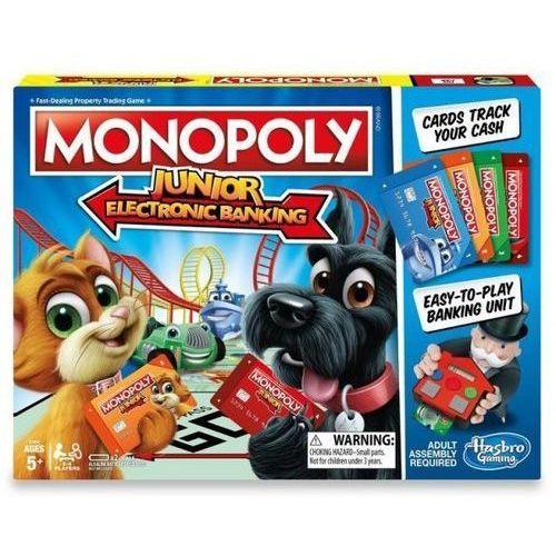 Monopoly junior electronic banking - darmowa dostawa od 199 zł!!! marki Hasbro