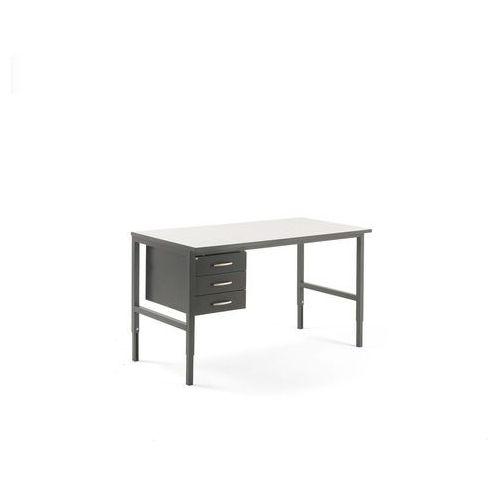 Aj produkty Stół roboczy cargo, 1600x750 mm, 3 szuflady