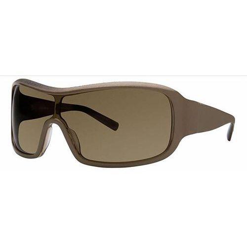 Vera wang Okulary słoneczne v234 khaki shield