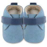 Shooshoos boys baby buty do raczkowania easy bleu