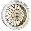 BBS SUPER RS Radstern Gold-Felgenbett Diamantgedreht Zweiteilig 8.50 x 20 ET 45