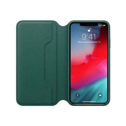 APPLE Leather Folio do iPhone XS Max, Forest Green >> BOGATA OFERTA - SZYBKA WYSYŁKA - PROMOCJE - DARMOWY TRANSPORT OD 99 ZŁ!
