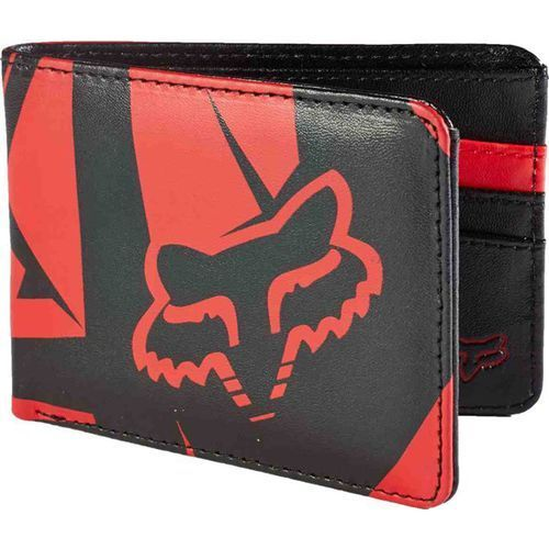 Fox Portfel  - fracture badlands pu wallet flame red (122) rozmiar: os