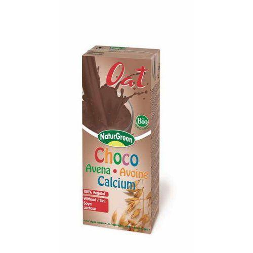 Napój owsiany czekoladowy bio 200 ml - marki Naturgreen
