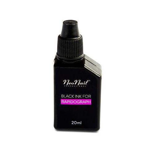 Neonail Tusz do rapidograph czarny - 20 ml