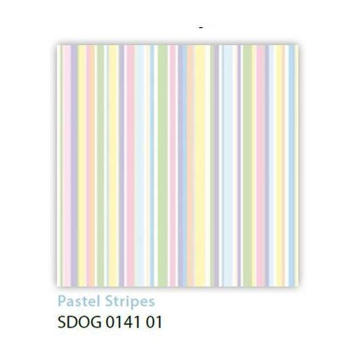 Serwetki 33 x 33 cm SDOG 014101 Pastelowe paski