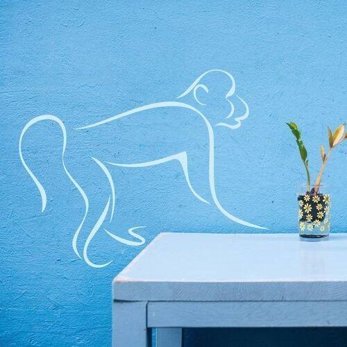 Naklejka dekoracyjna małpa 2003 marki Wally - piękno dekoracji