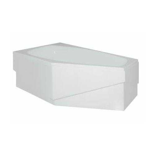 Polimat Polimat marika wanna asymetryczna 140x80 cm lewa + obudowa + syfon 00682/00684/19975 140 x 80 (00682)