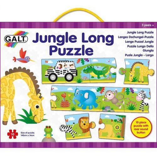Galt długie puzzle podłogowe - dżungla