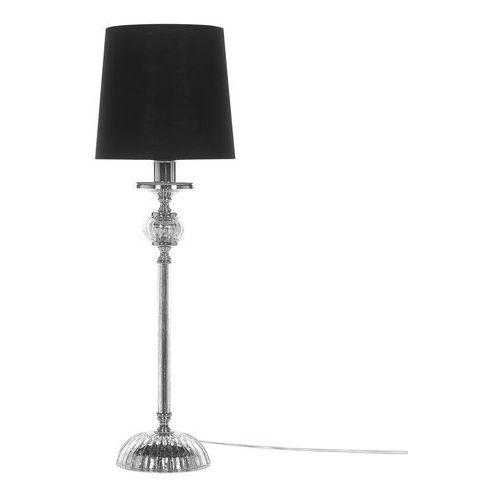 Beliani Lampa stołowa czarna kubena (4260624111803)