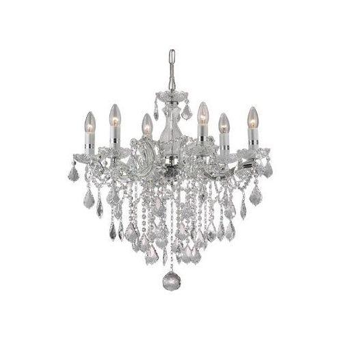 Ideal-lux Lampa wisząca florian sp6 chrom, 35628