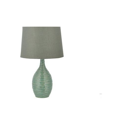 Lampa stołowa ciemnozielona 57 cm ATSAS