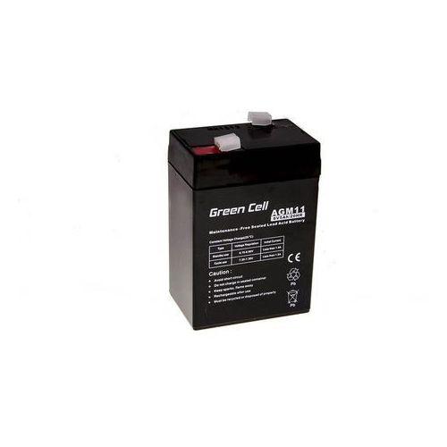 Akumulator AGM 6V 5Ah {70 × 47 × 106 mm} (GreenCell)