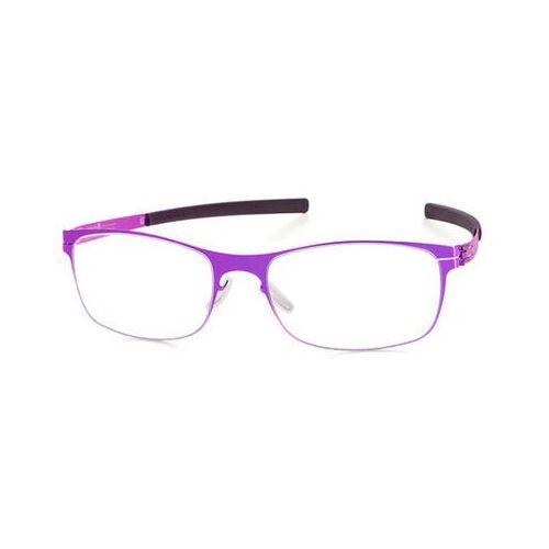 Ic! berlin Okulary korekcyjne  m1278 jaczostr. electric-violet