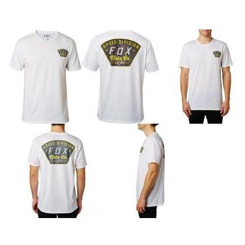 T-shirt fox seek and construct tech optic white marki Fox_sale