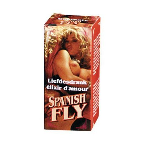 Cobeco pharma Cobeco spanish fly red hiszpańska mucha silny afrodyzjak podniecający dla par 15ml