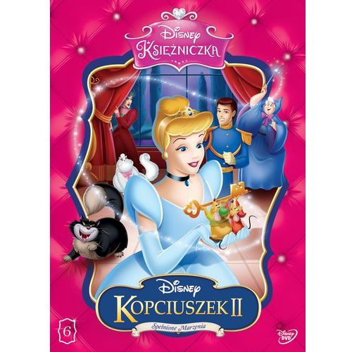 Disney Księżniczka. Kopciuszek 2. Spełnione marzenia [DVD] (7321917501576)