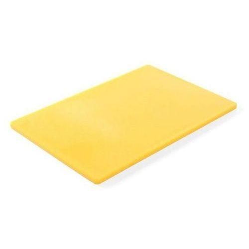 Hendi Deska do krojenia haccp 450x300 żółta do surowego drobiu