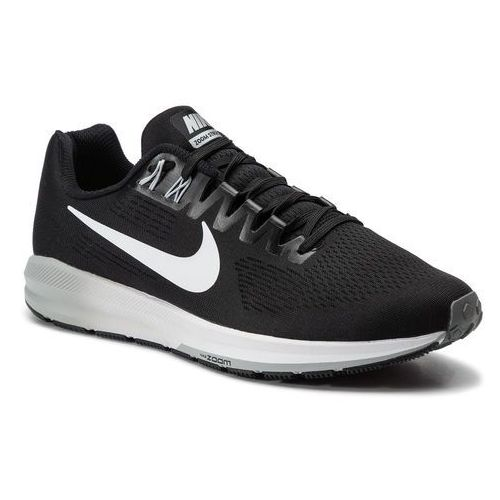 Nike Buty - air zoom structure 21 904695 001 black/white/wolf grey/cool grey