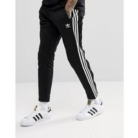 adidas Originals adicolor Popper Joggers In Black CW1283 - Black, kolor czarny