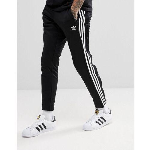 adidas Originals adicolor Popper Joggers In Black CW1283 - Black, kolor czarny