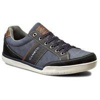 Sneakersy GINO LANETTI - MP40-6097Y Granatowy, kolor niebieski