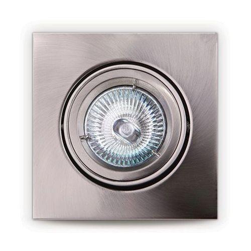 Oczko lampa oprawa wpuszczana downlight 1x50w gu5.3 12v satyna h0040 marki Maxlight