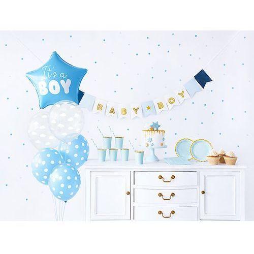 Party deco Party box - imprezowe pudełko - zestaw dekoracji na baby shower (5900779124752)
