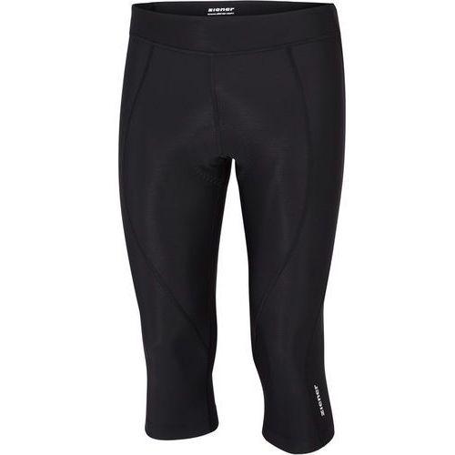 Ziener caralina x-gel-tec spodnie rowerowe kobiety czarny 44 2018 spodnie szosowe (4059749125075)