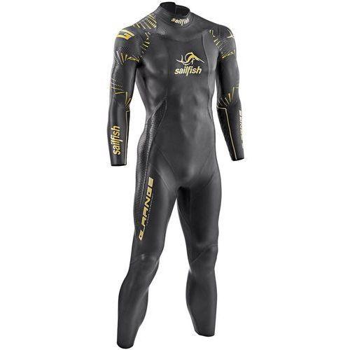 Sailfish g-range mężczyźni czarny sl 2018 pianki do pływania