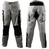 Motocyklowe spodnie męskie W-TEC Rolph, Jasnoszary, 3XL, 1 rozmiar