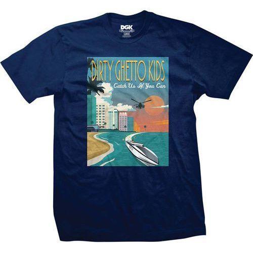 Dgk Koszulka - go fast harbor blue (harbor blue) rozmiar: m