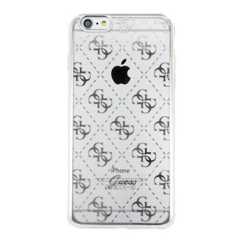Etui GUESS hard GUHCP6TR4GSI do iPhone 6/6S srebrne Odbiór osobisty w ponad 40 miastach lub kurier 24h z kategorii Futerały i pokrowce do telefonów