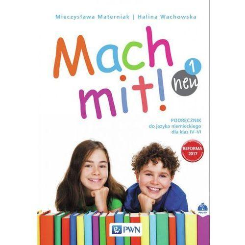 Mach mit! neu 1 Podręcznik do języka niemieckiego dla klasy IV + CD, WYDAWNICTWO SZKOLNE PWN