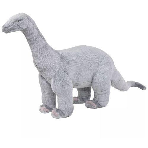 pluszowy brachiozaur, stojący, szary, xxl marki Vidaxl
