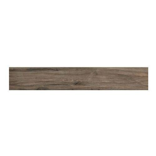 Ceramika Paradyż Gres szkliwiony Greenwood brown 14,8 x 89,8 cm imitacja drewna