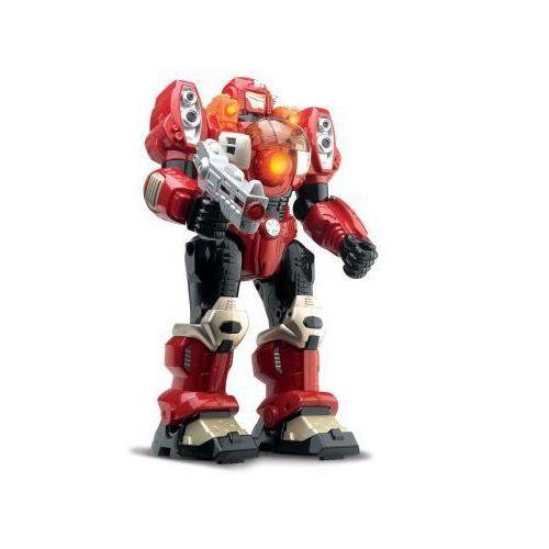 Robot 30cm Autotron Chodzi Świeci Dumel Czerwony 5877